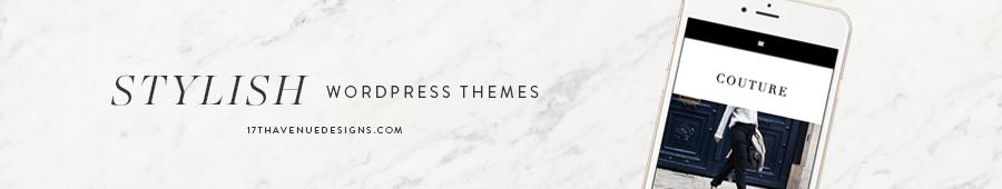 17th Avenue - Feminine & Stylish Wordpress Themes