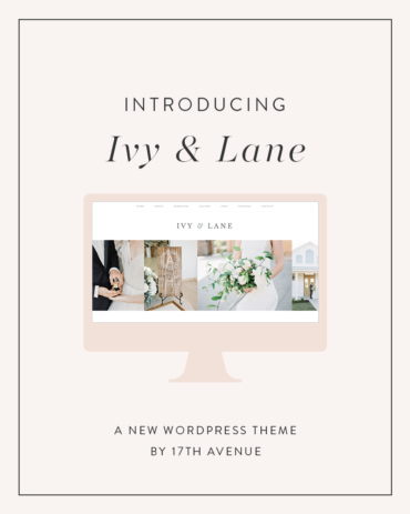 Introducing Ivy & Lane: Our most flexible theme ever!