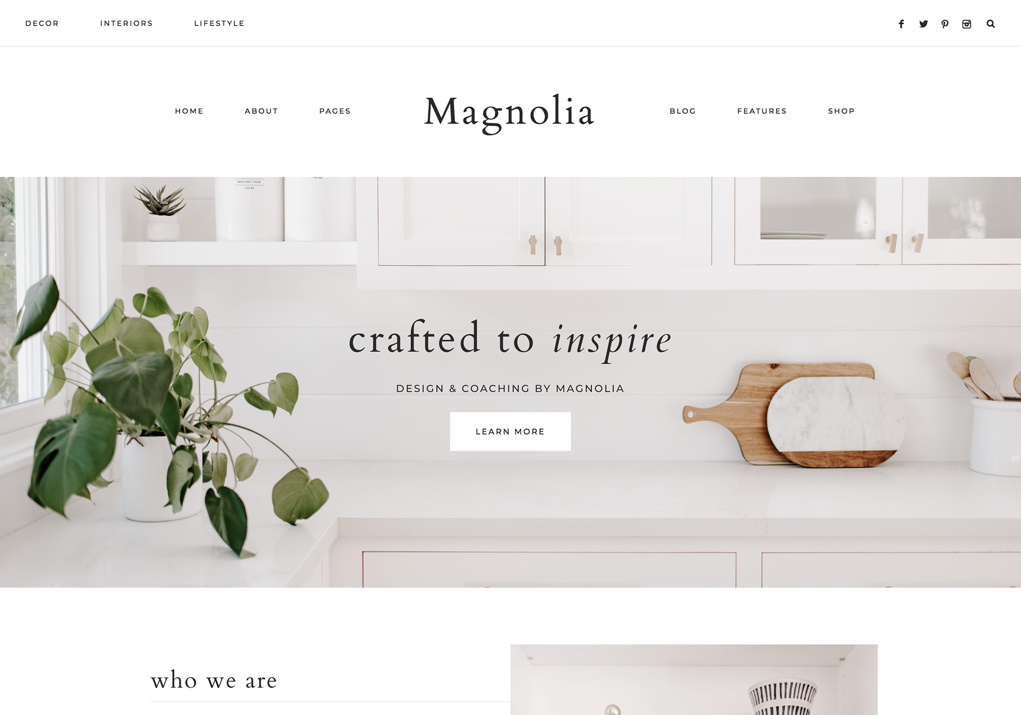 Magnolia Wordpress Theme 17th Avenue